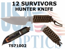12 Survivors Hunter Knife