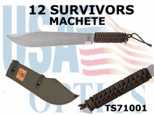 12 Survivors Machete