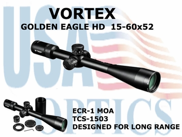 GOLDEN EAGLE HD 15-60x52 ECR-1 MOA