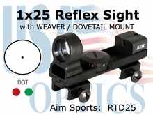 1x25 Dual Ill Sight w/ Interchangeable Base