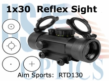 1x30 Dual Ill Sight w/ 4 Different Reticles