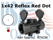 1x42 Red Dot Sight w/ Weaver Base