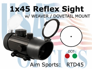 1x45 Dial Ill Sight w/ Interchangeable Base