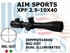 AIM SPORTS XPF 2.5-10X40 MIL-DOT DUAL ILLUMINATED