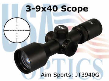 3-9X40 COMPACT SCOPE/GREEN