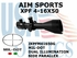 AIM SPORTS XPF 4-16X50 MIL-DOT WITH SIDE PARALLEX