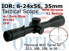 6-24x56 35mm SF MIL/MIL Tactical