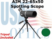 AIM: 22-65x50 Spotting Scope