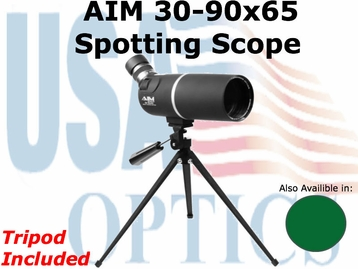AIM: 30-90x65 Spotting Scope
