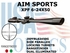 AIM SPORTS XPF 6-24X50 RANGEFINDER DUAL ILLLUMINATED