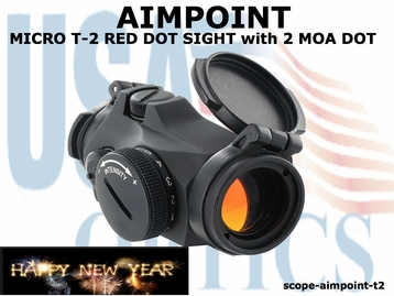 AIMPOINT MICRO T-2 RED DOT SIGHT w/o Base (show demo)