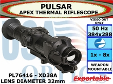 Apex 1.5-6x32 Thermal Scope