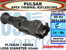 PULSAR APEX XD50A 2-8x42 THERMAL RIFLESCOPE