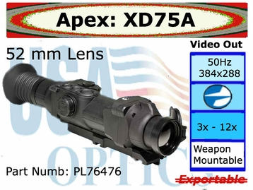 Apex 3-12x52 Thermal Scope