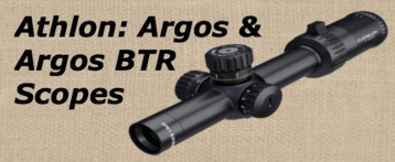 Athlon Argos Scopes