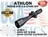 ATHLON MIDAS BTR 4.5-27x50 AHMR SFP IR MOA ILLUMINATED (VIDEO)