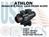 ATHLON MIDAS BTR PR11 - 1X19 PRISM SCOPE APSR 11 RETICLE