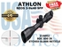 ATHLON NEOS 3-9x40 BDC 500 IR SFP ILLUMINATED (VIDEO)