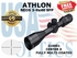 ATHLON NEOS 3-9x40 CENTER X SFP (VIDEO)