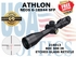 ATHLON NEOS 6-18x44 BDC 500 IR SFP ILLUMINATED (VIDEO)