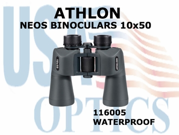 ATHLON NEOS BINOCULARS 10x50 (VIDEO)