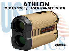 ATHLON OPTICS MIDAS 1200y LASER RANGEFINDER