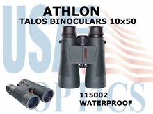 ATHLON TALOS BINOCULARS 10x50 (VIDEO)