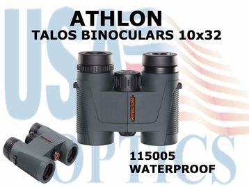 ATHLON TALOS BINOCULARS 10x32 (VIDEO)