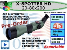 ATN X-SPOTTER HD 20-80x200 SPOTTING SCOPE
