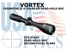 CROSSFIRE ll 6-24x50 AO DEAD-HOLD BDC