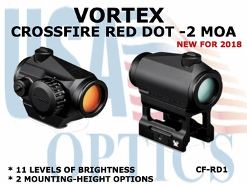 CROSSFIRE RED DOT - 2 MOA