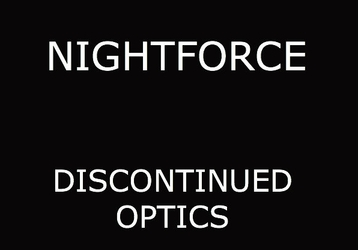 Discontinued Nightforce Scopes
