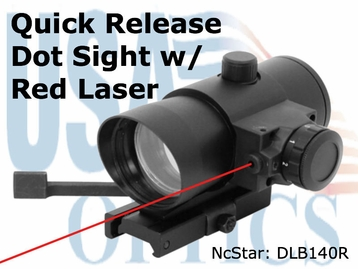 Dot Sight w/ Red Laser