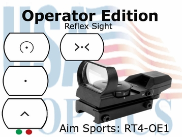 Dual Ill 4  Different Reticles / Operator Edition