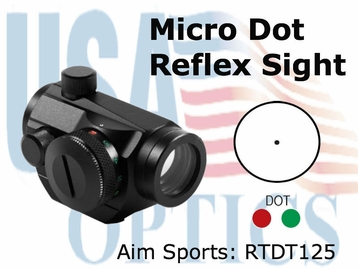 Dual Ill Micro Dot w/ Windage & Elevation Knob