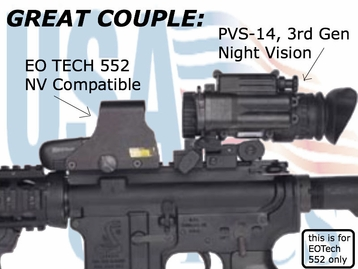 EO Tech 552 Night Vision Compatible