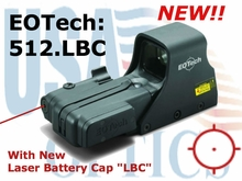 EOTech 512.LBC (w/ visible red laser)