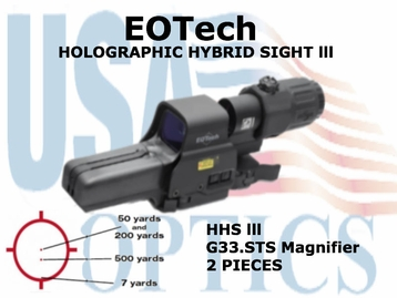 EOTech HOLOGRAPHIC HYBRID<br> SIGHT lll 518.2 with G33.STS Magnifier