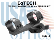 "EoTech PRS QD 2"" CANTILEVER 34 mm RING MOUNT"