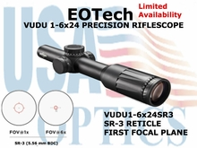 EOTech VUDU 1-6x24 SR-3<BR>PRECISION RIFLESCOPES
