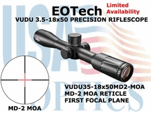 EOTech VUDU 3.5-18x50 MD-2 MOA (starting to arrive)