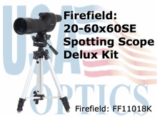 Firefield 20-60x60SE Spotting Scope Kit