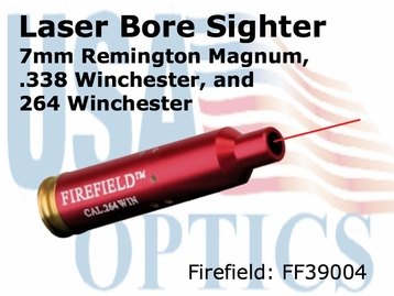 Firefield 7mm Rem Mag, .338 Win, .264 Win Laser Bore Sight