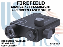 FIREFIELD CHARGE XLT FLASHIGHT and GREEN LASER SIGHT