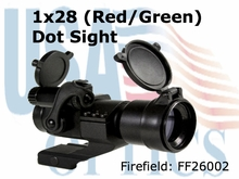 Firefield Close Combat Red and Green Dot Sight