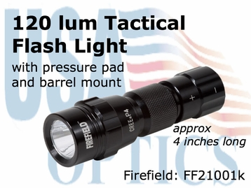 Firefield Shotgun and Rifle 120 Lumen Flashlight