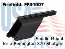 Firefield Shotgun Saddle Mount for Remington 870