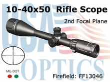 Firefield Tactical 10-40x50 Tactical Riflescope