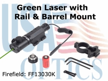 Firefield XY Green Hand adjustable Laser Sight