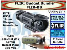 FLIR RS32 19mm & SCOUT ll 240 19 mm - BUDGET BUNDLE